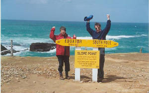 Southernmost Point of SI New Zealand Slope Point